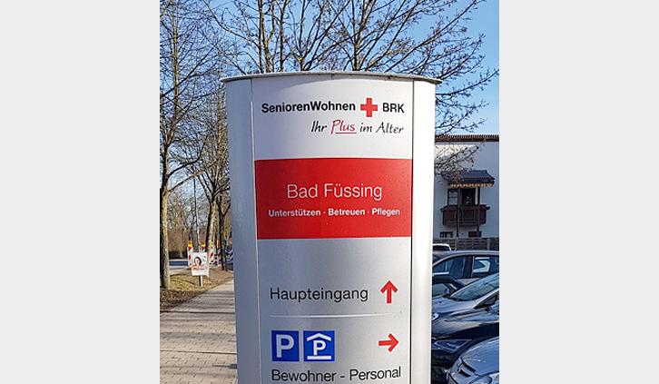 Seniorenwohnheim BRK Bad Füssing Pylon
