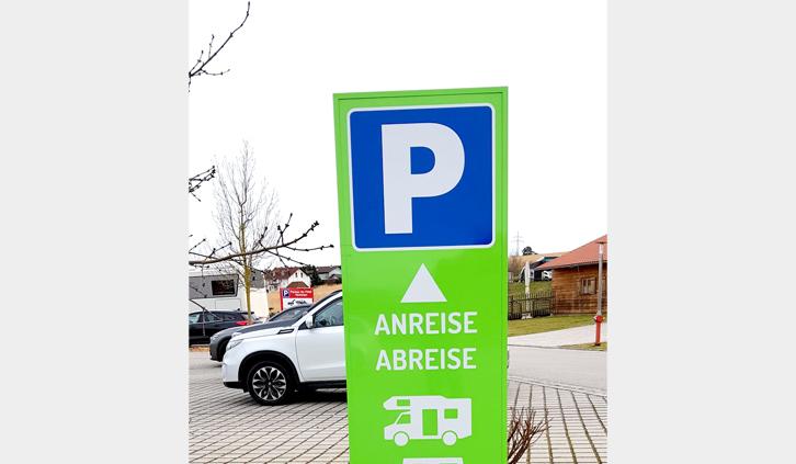 Parkplatz Vitalcamp