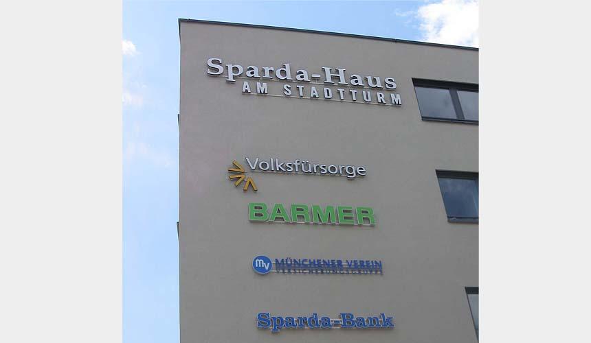 Sparda-Haus am Stadtturm