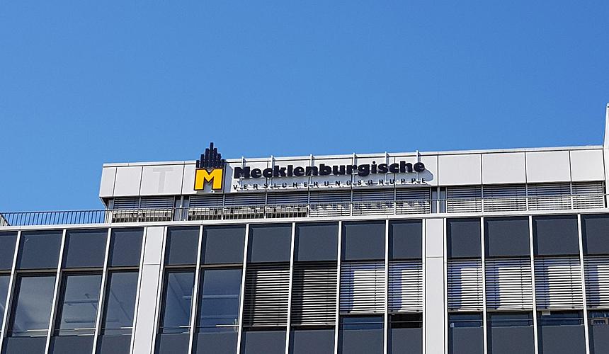 Mecklenburgische LED Lichtwerbung