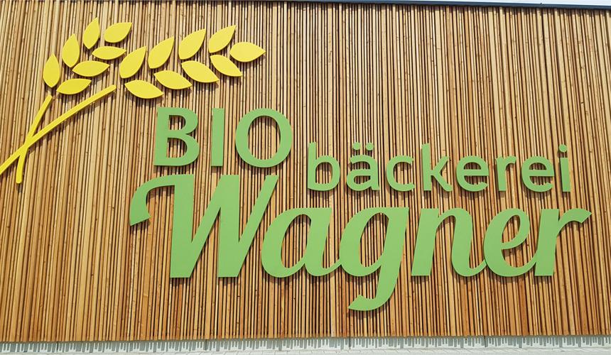 BioBäckerei Wagner LED Lichtwerbung