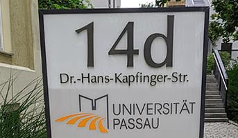 Quartier Mitte Passau Pylon