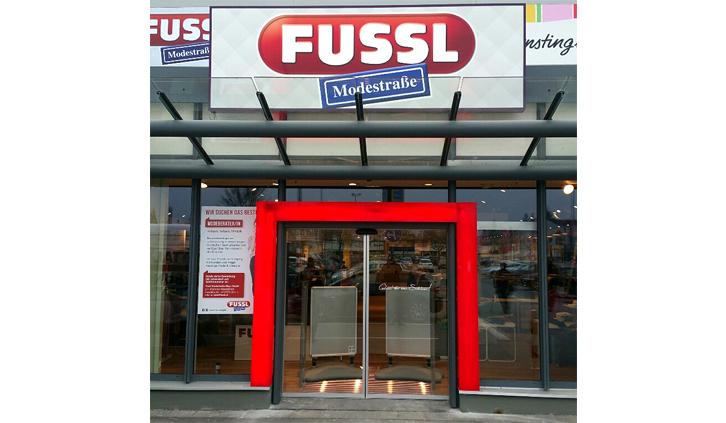 Fussl Modestraße Portal