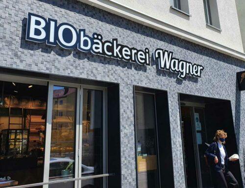 Leuchtwerbeanlage Biobäckerei