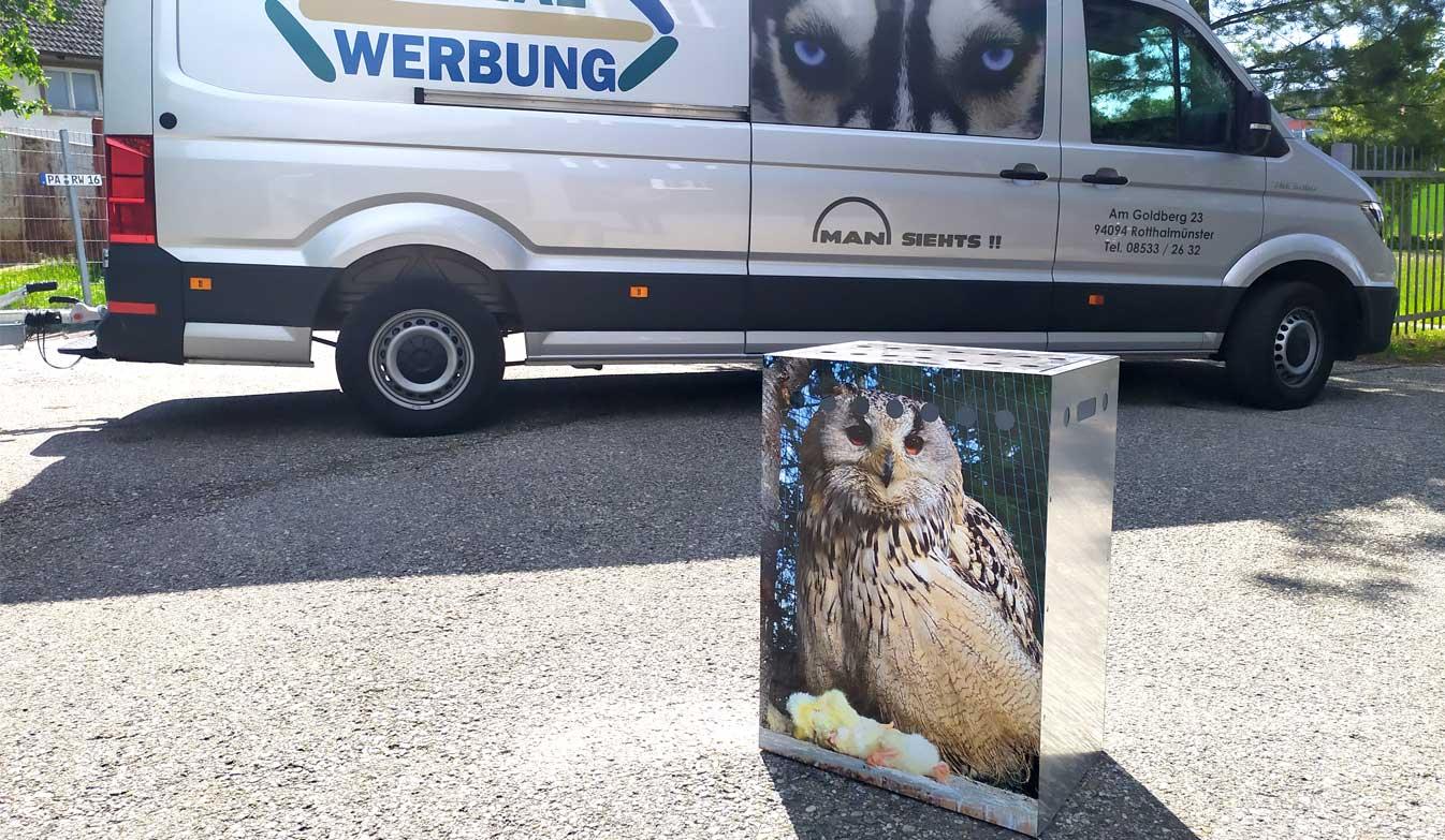 Transportboxen für Greifvögel